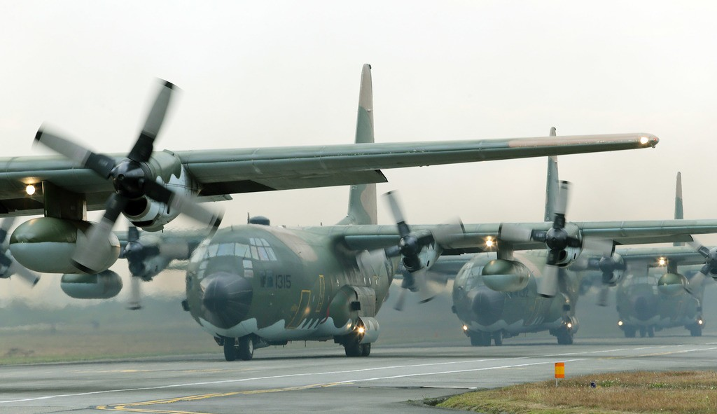 File Photo: Taiwan Air Force C-130 Hercules