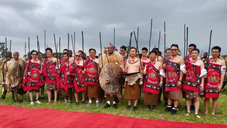 Photo of the Day: First Taiwatini Regiment in Eswatini