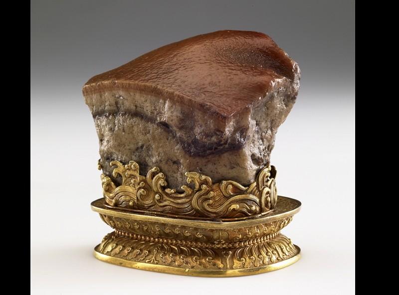 清朝肉形石(圖/故宮)