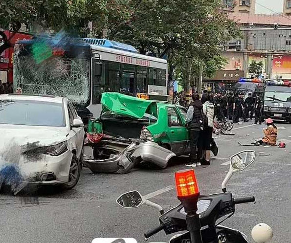 China: Hijacked bus crashes into pedestrians, 5 killed