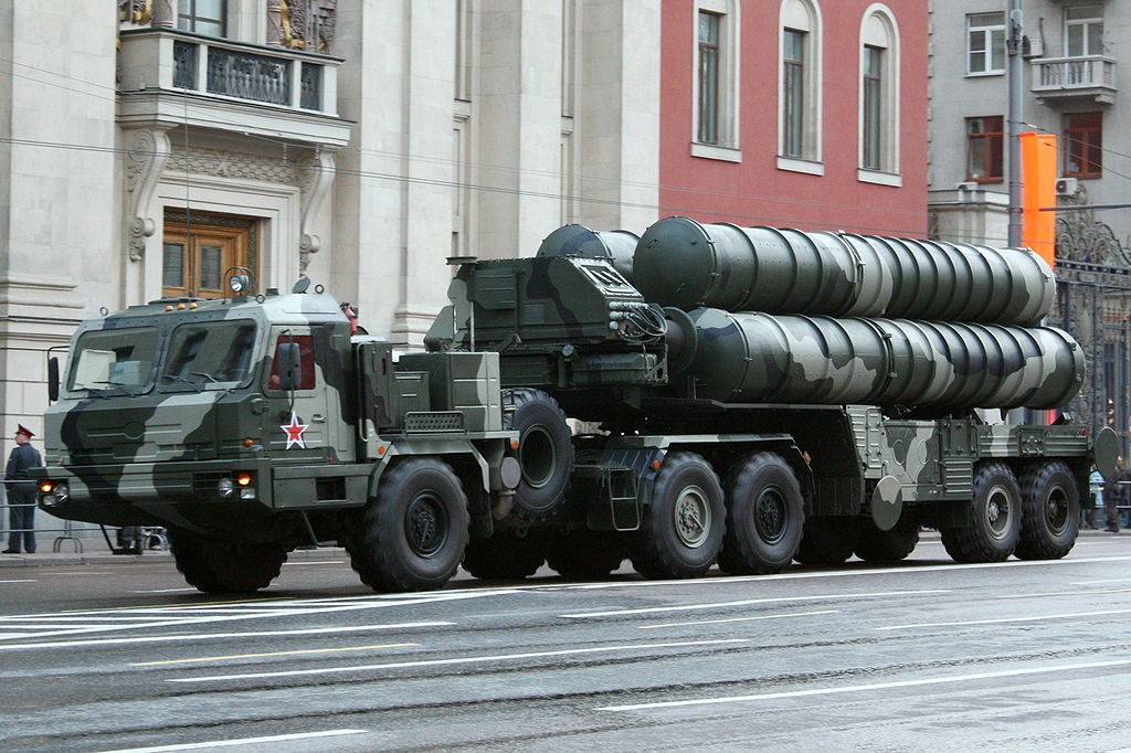 The S400 missile system in Russia (photo by goodvint)