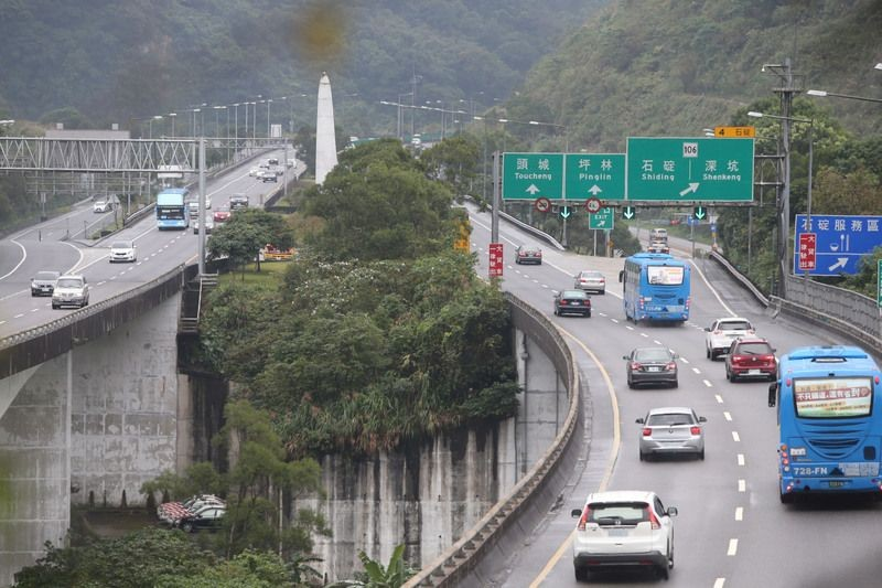 Taiwan's freeways are expected to be particularly busy over the next few days