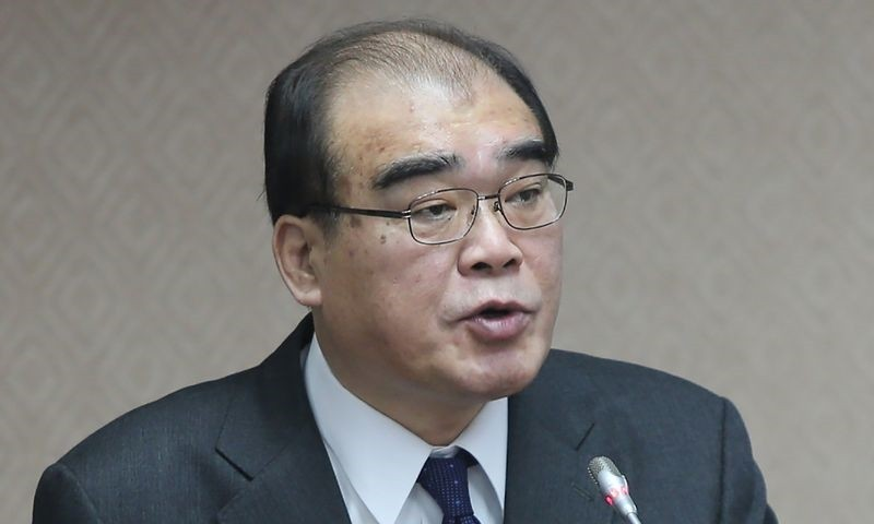 New National Immigration Agency chief Chiu Feng-kuang.
