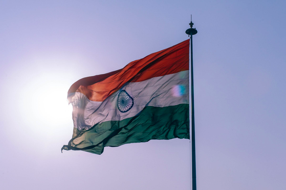 The Indian flag (Image by Pexels)