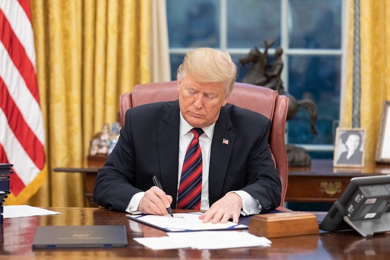 Trump Signs the ARIA Act into law, Dec. 31