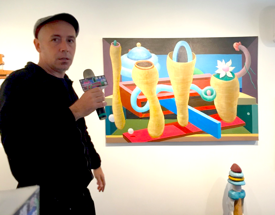 西班牙藝術家阿里巴魯(圖)舉辦個展「激情與空無」(圖/台灣英文新聞)