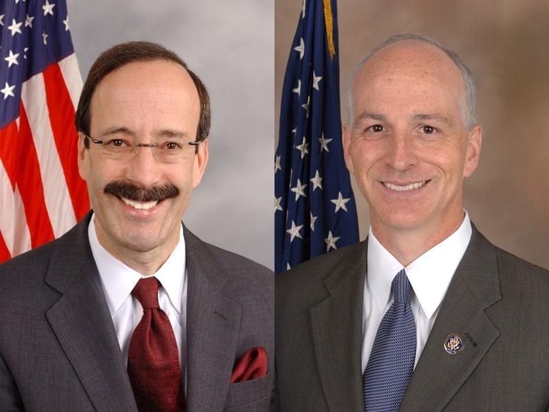 美國新國會眾院外委會與軍委會新任主席恩格爾(左)與史密斯都是台灣連線成員,十分友台。(圖取自維基共享資源網頁,版權屬公眾領域)