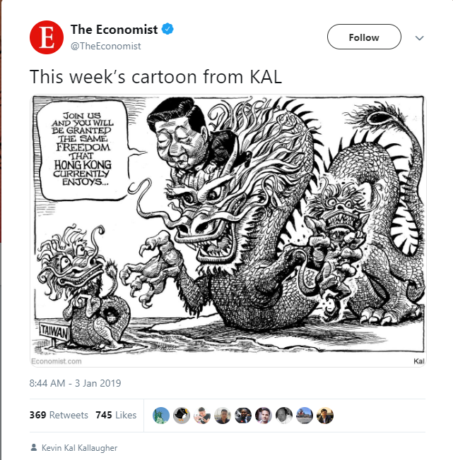 The Economist cartoon mocks Chinese leader Xi    | Taiwan News