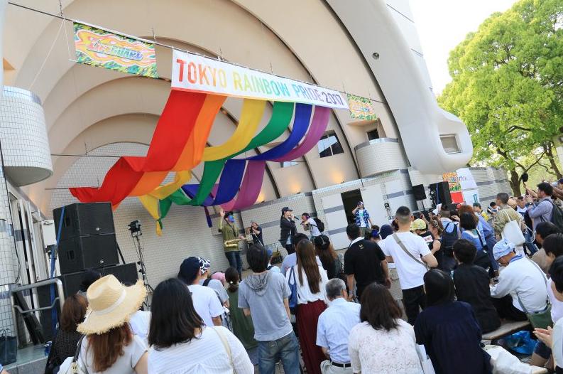 (翻攝自TOKYO RAINBOW PRIDE)