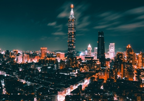 Taipei skyline. (Photo by unsplash user Tom Ritson)