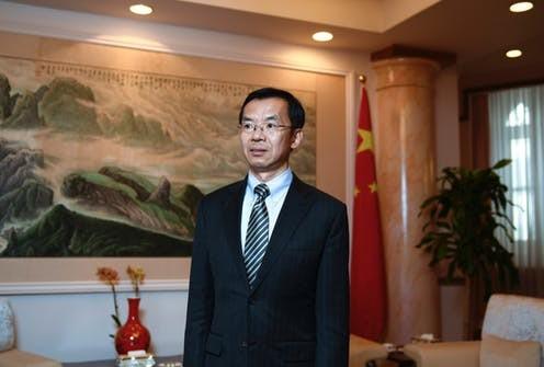 Chinese Ambassador to Canada, Lu Shaye
