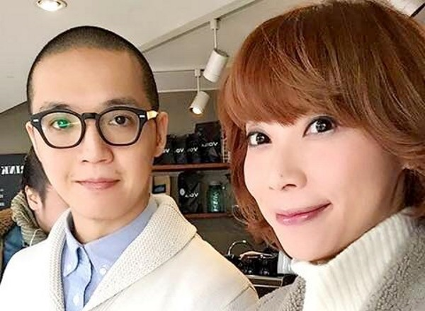 Huang (left) and Su (right). (Facebook image)