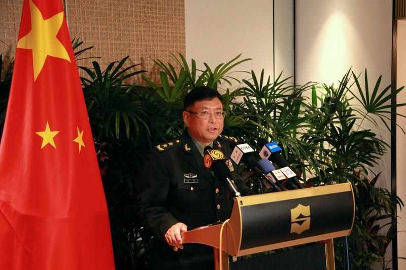 File Photo: PLA Lt. Gen. He Lei