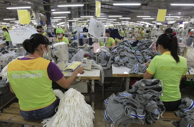 Pro sports clothing factory in Nam Dinh Province