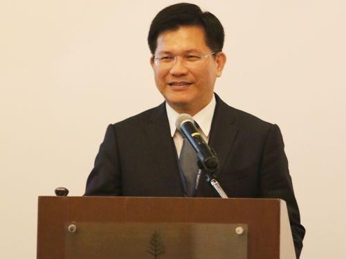 Former Taichung Mayor Lin Chia-lung.