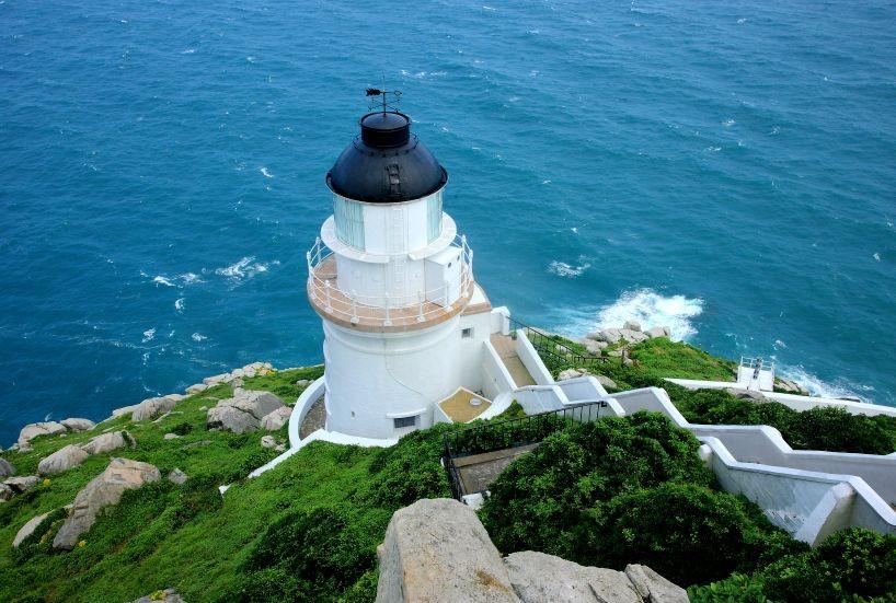The Dongyong Lighthouse, Taiwan's outlying Matsu islands (Photo by Huang Chung-hsin, Taiwan Today)