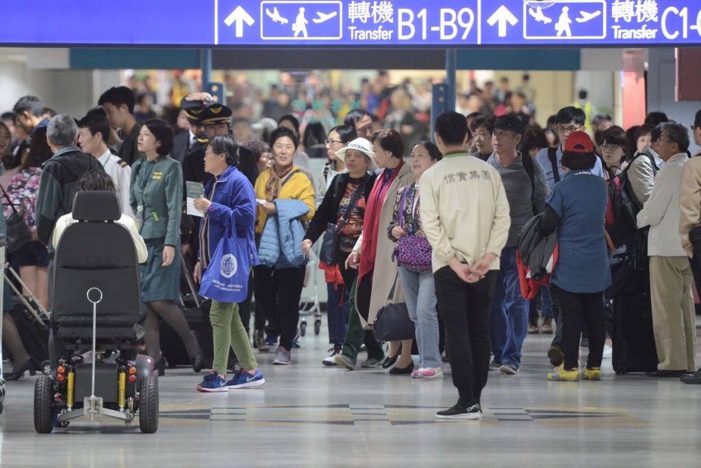 Busy days ahead for Taiwan Taoyuan International Airport.