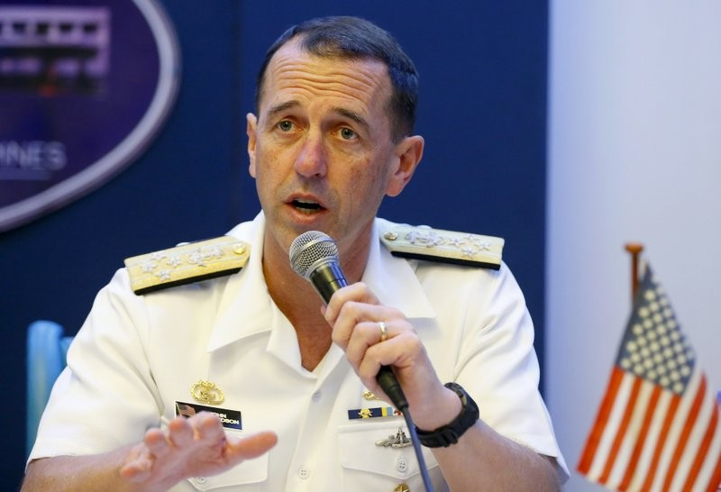 File photo: Adm. John Richardson, chief of Naval Operations of the U.S. Navy