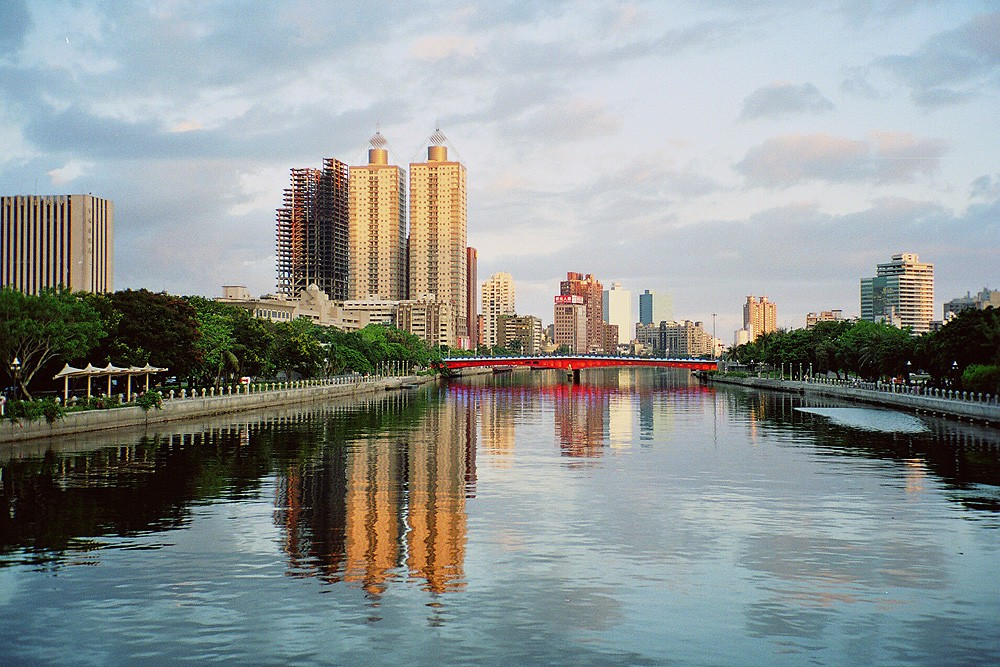 Love River in Kaohsiung.