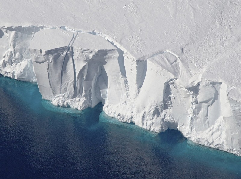 南極冰層(圖/美聯社)