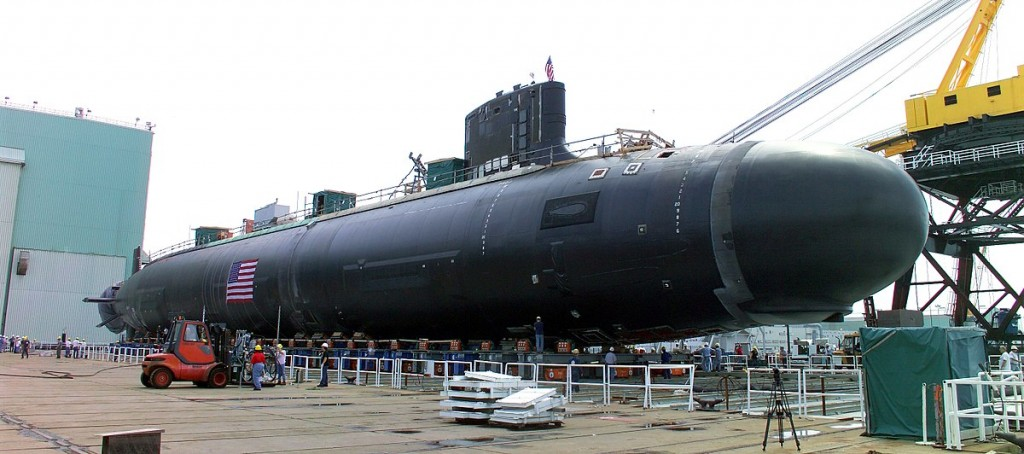 US nuclear-powered attack sub, PCU Virginia (SSN 7...