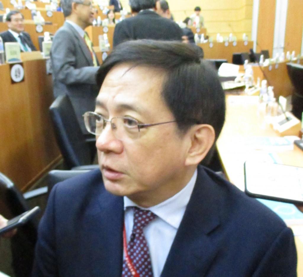 NTU President Kuan Chung-ming.