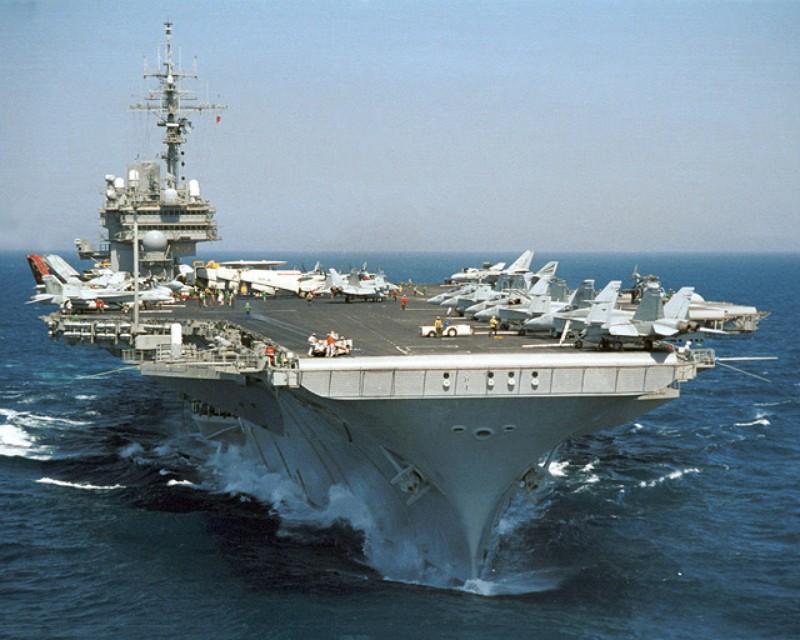 U.S. Navy aircraft carrier USS Kitty Hawk (Photo/Wikipedia)