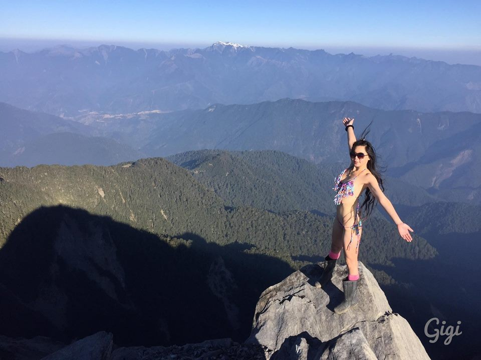 'Bikini Hiker' Gigi Wu dies during solo climb in Taiwan