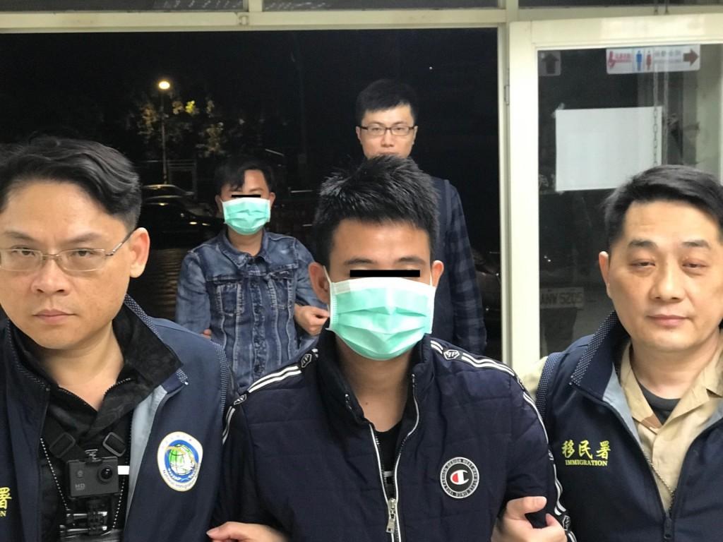 資料照- 遭逮捕的失聯越南籍遊客(圖/ 移民署)