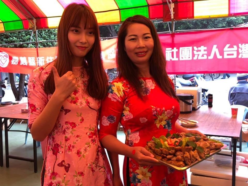 陳薏安(左)與其母親(右)<圖取自「立法委員 林麗蟬」臉書>