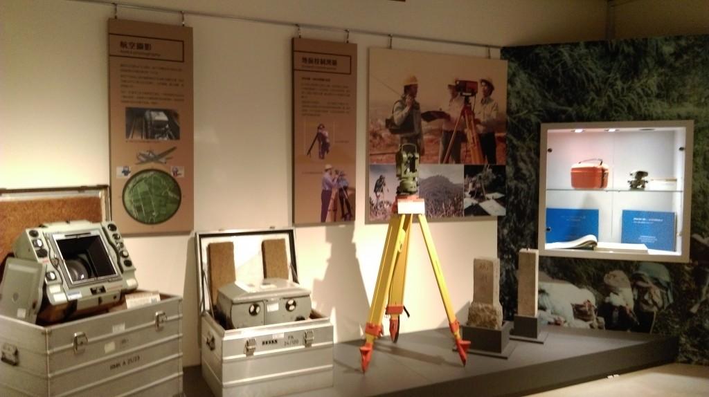 「航測儀器典藏室」。(照片由農航所提供)