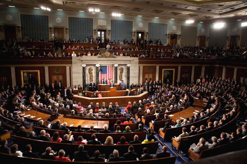 美國眾議院(圖片來源:維基百科)
