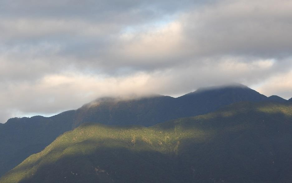 Mountains of Hualien (Image courtesy of William O. Bryant)