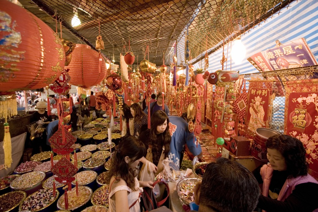Dihua Lunar New Year Market (flickr Michael Rehfeldt)