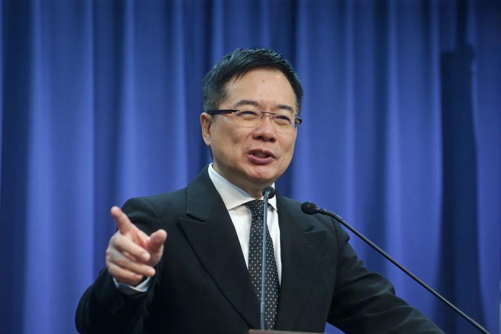 Former KMT legislator Alex Tsai.