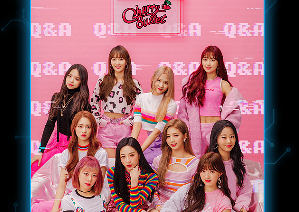 New K-pop group 'Cherry Bullet' with Taiwanese member 'Lin-lin' (rear left)