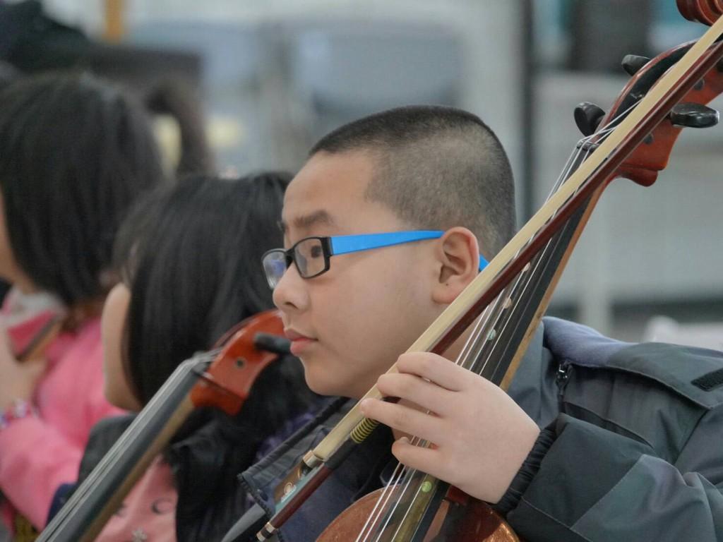 菁桐國小偏鄉提琴手 弦樂冬令營成果發表會 (菁桐國小提供)