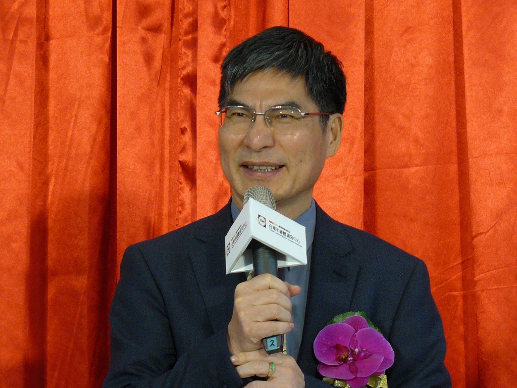 Minister of Science and Technology Chen Liang-gee inaugurates the Taiwan Semiconductor Research Institute on Jan. 30 (Source: CNA)