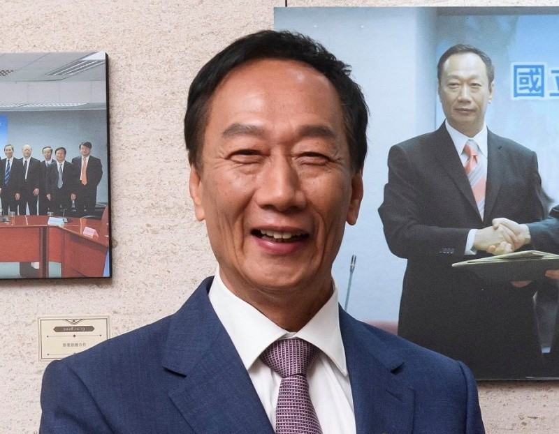 Terry Gou (Photo/FB@TerryGou1018)