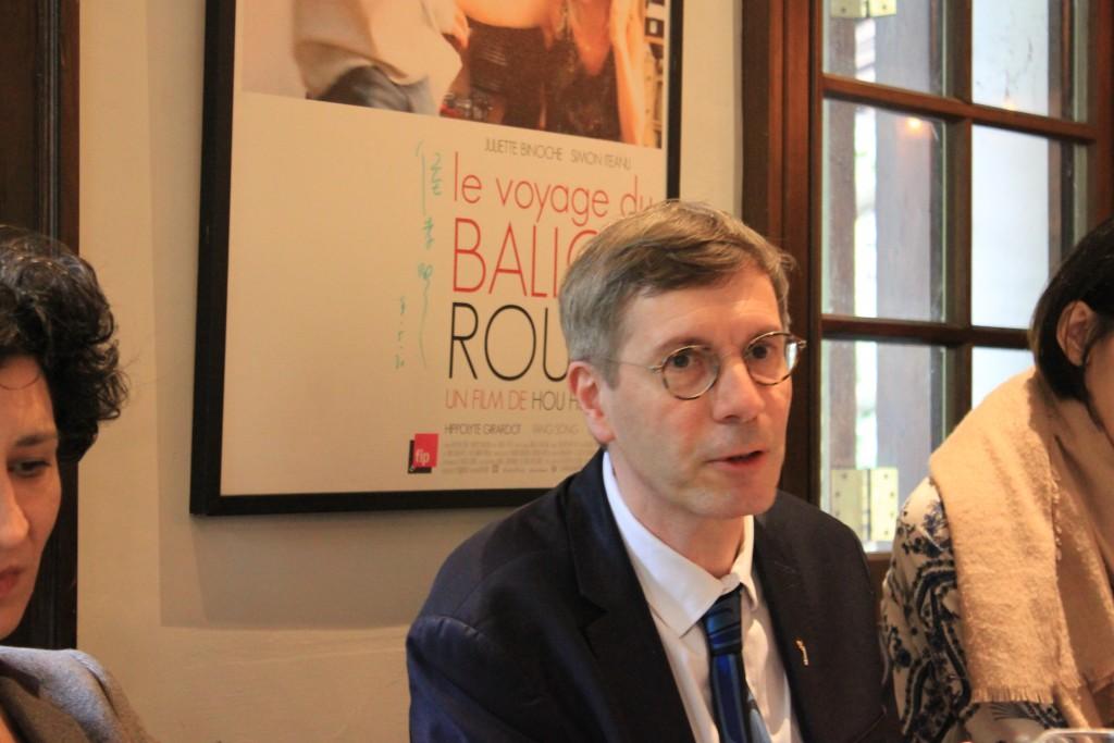 法國人權大使克羅凱特(Francois Croquette)