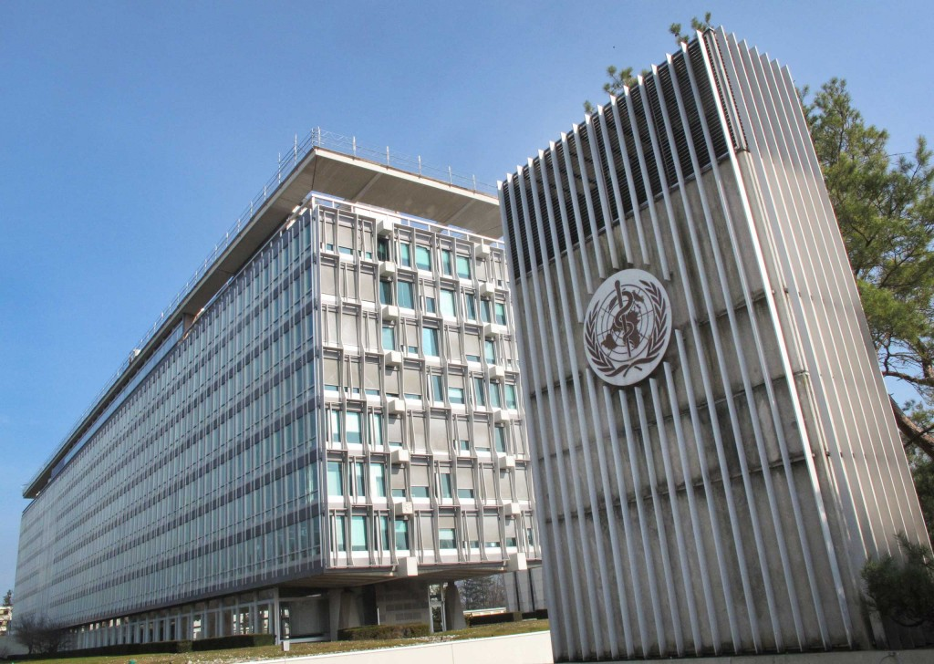 WHO headquarters, Geneva, Switzerland