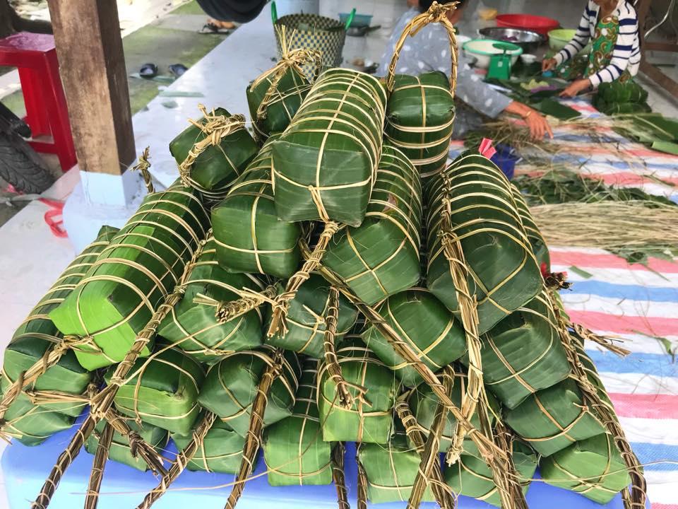 越南特有的圓形粽(圖/ 新住民全球新聞網)