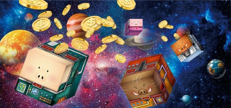 'Universe of Piggy Banks' designed by Taiwan's Su Kuan-chih (Image from Taiwan Today)