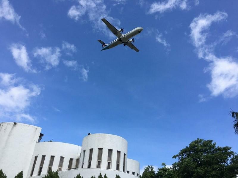 新生公園賞飛機(圖/台北旅遊網)