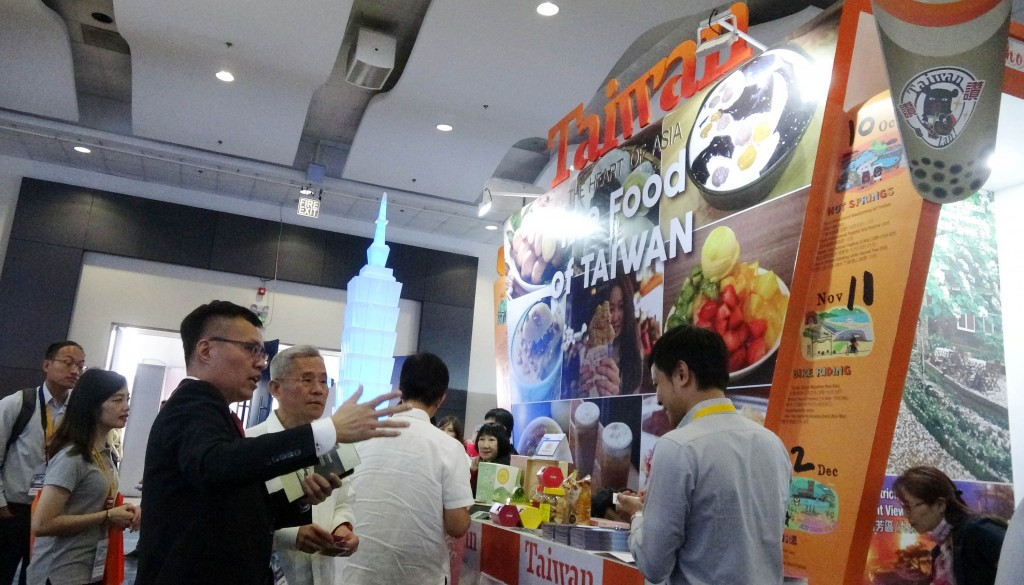 Taiwan at the Travel Tour Expo in Manila