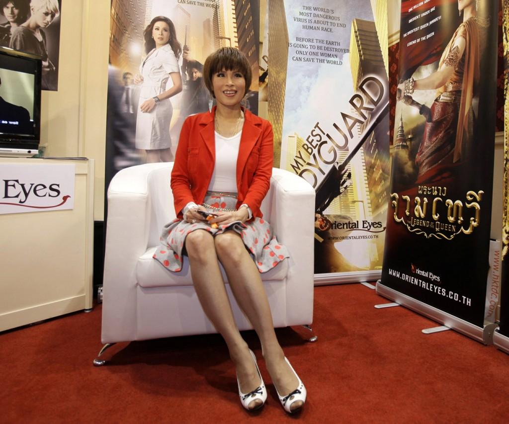 Thai Princess Ubolratana at a movie event in Hong Kong in 2010.