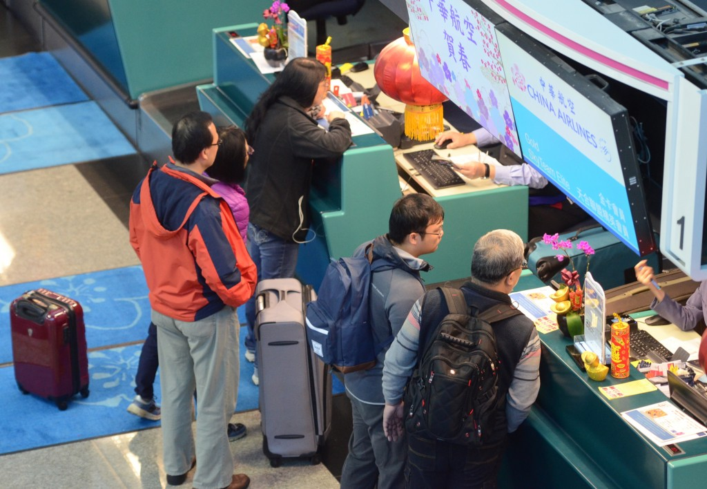 Travelers inquiring about the latest China Airlines pilot strike situation Saturday.