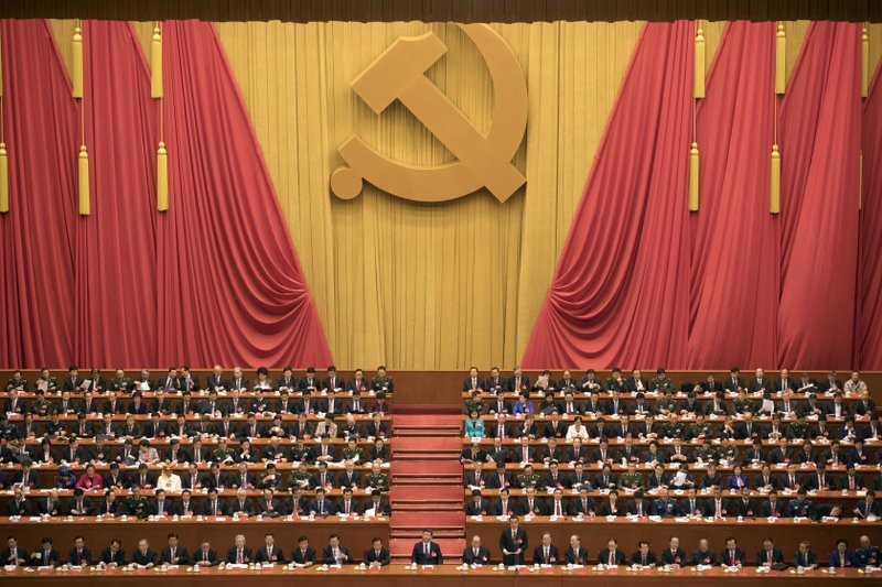 19th Party Congress, Great Hall of the People