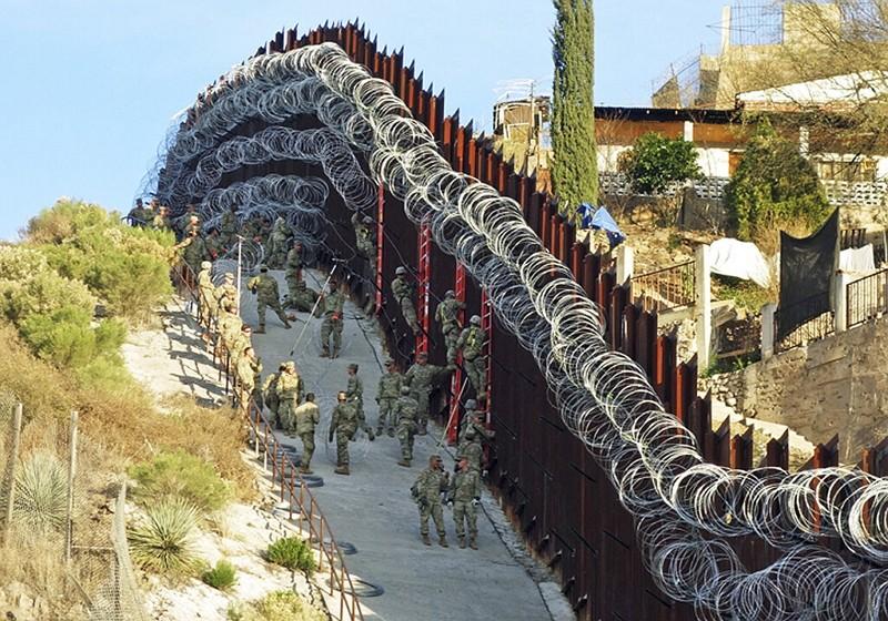 亞利桑那州與墨西哥邊境(美聯社)