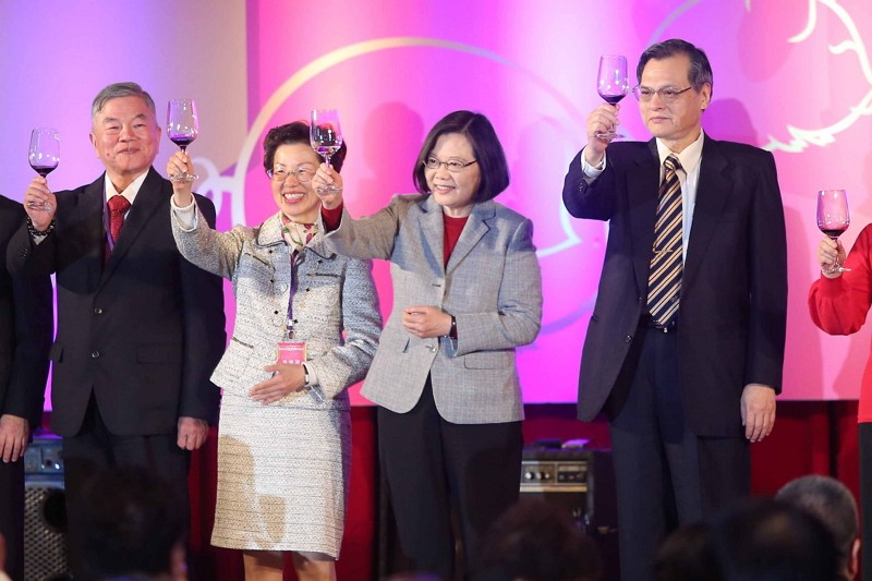 Taiwan President calls for support to polish 'Made in Taiwan' brand